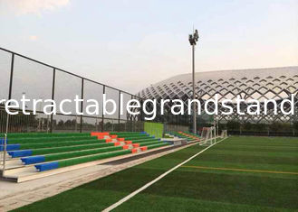 Football Match Permanent Grandstands Angle Frame Optional Handrail
