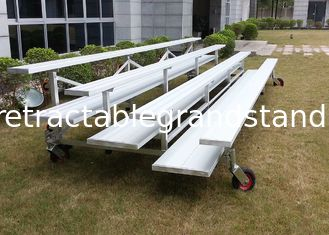 Environmental Portable Grandstand Seating , Mobile Seating Stands For Gyms / Events