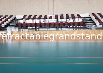 Foldable Chair Permanent Stadium Seats HDPE Material For Indoor Sport Court