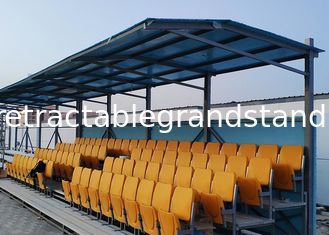 Fixed Tip Up Sports Stadium Seats , Outdoor Sports Seating