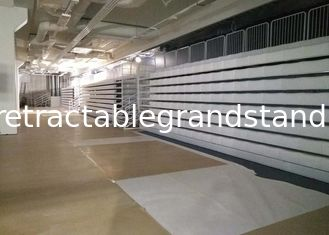 Indoor Retractable Theater Seating , Temporary Grandstand Seating With Seat Number