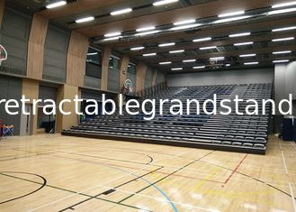 Upholstered retractable audience seating , Temporary Spectator Stands for School