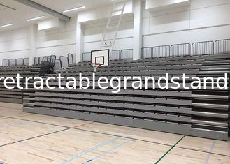 Smart Telescopic Tribunes High Density Polyethylene With Blow Moulded Constructed Seat