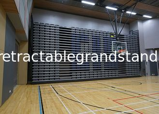 Indoor Gym Telescopic Tribunes Bleacher with VIP Individual Upholstered Seat