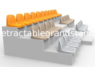 Plastic Fixed Stadium Seating Polymer Injection Mold Permanent For Outdoors