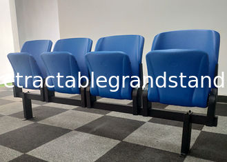 Spectator Permanent Grandstands Fixed Tip Up Seating PE Material For Stadium
