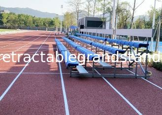 Indoor / Outdoor Temporary Spectator Stands With Removable Rubber Pneumatic Wheels
