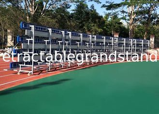 Retractable Temporary Spectator Seating Stands With Aluminum Single Foot Plank