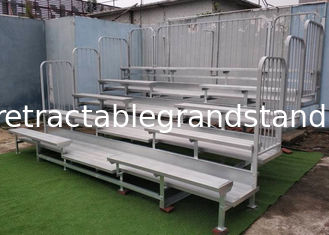 Double Decks Permanent Grandstands Outdoor Elevated / Non Elevated Versions