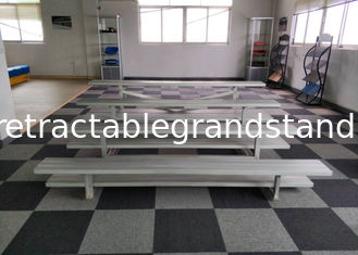 Aluminum Frame Temporary Grandstand Seating Easy Assembly With Stainless Bolts / Nuts