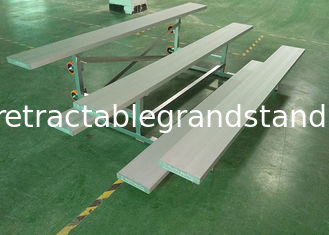 Portable Bleachers Temporary Spectator Stands Moveable With Single Footboard