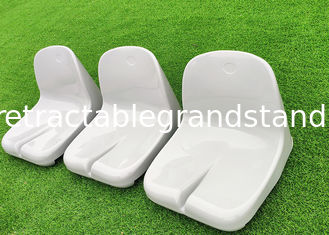 Steel Bucket Sports Stadium Seats Chair Polymer BS5852 FR Standards For Arenas