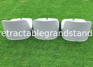 Easy Maintenance Outdoor Stadium Seating Bleacher Chairs Floor / Riser Mounted