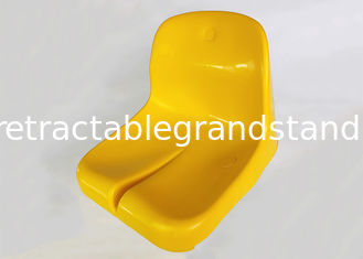 Opal Seat Fixed Stadium Seating Bleachers Groove Design With Back Support