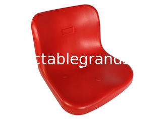 Steel Bracket Fixed Stadium Seating Outdoor Polymer Seat For Arena Seating