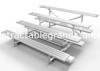 Easy Assembly Modular Grandstands Aluminum Bleacher Planks For Tennis Court