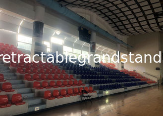 Basketball Court Sports Stadium Seats Opal Plastic Material Easy Maintenance