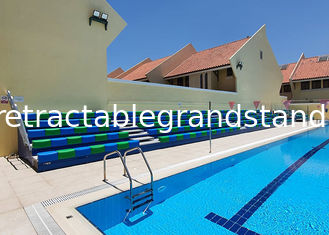 HDPE Swimming Pool Polyethylene Retractable Grandstands