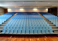 China Nose Mounted Foldable Bleacher Seats , Automatic Seat Rows Indoor Bleacher Seating company