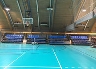 China Portable Retractable Indoor Bleachers , Retractable Seating System With Lifting Dollies company