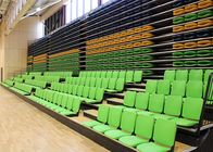 China Melody Polymer Telescopic Tribunes Retractable Seating EN1320-5 For Sport Place company