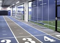 Indoor Durable Fixed Aluminum Grandstands For Multifunctional Sport Center