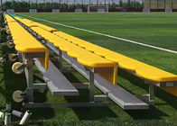 China Light Weight Aluminum Stadium Bleachers Portable Outdoor Seat Color Optional company