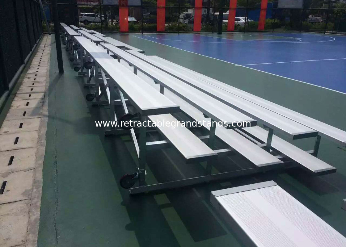 Fixed Temporary Grandstand Seating Single / Double Foot Planks For