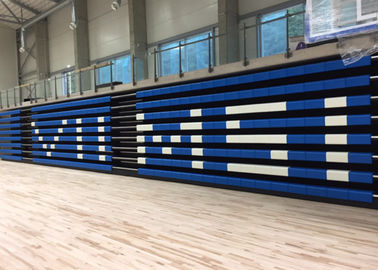 China 1000mm Stair Width Retractable Bleacher Seating For Multipurpose Stadium factory